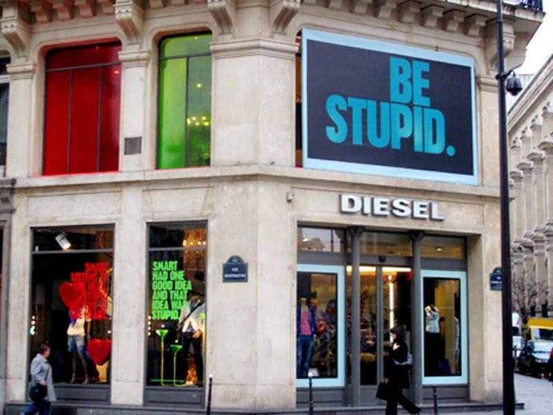 Diesel - Window displays