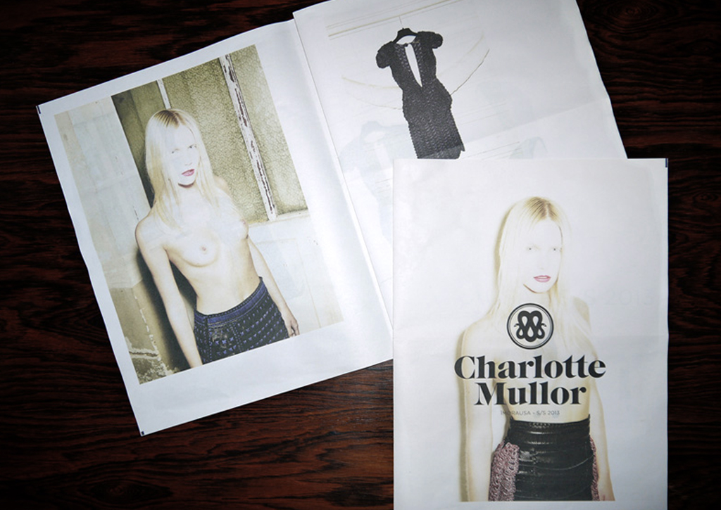 Charlotte Mullor - Lookbook - SS 2013 - Cover