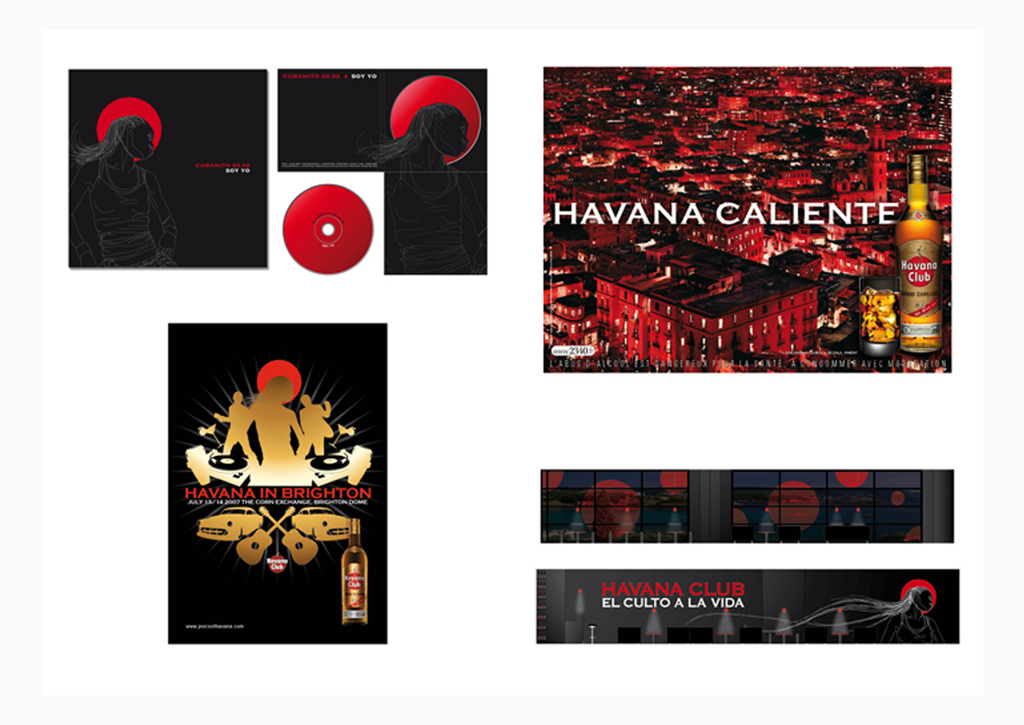 Havana Club - Below the line
