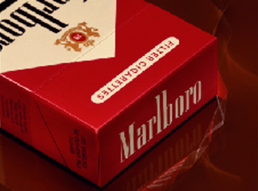 Marlboro - Pack and below the line